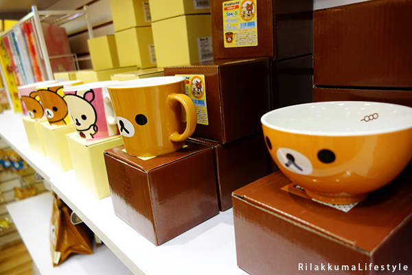 Rilakkuma Lifestyle - リラックマ - Rilakkuma Shop - Grand Opening - Westfield Brandon Center Mall Florida - First Rilakkuma Shop in US - bowl and mugs