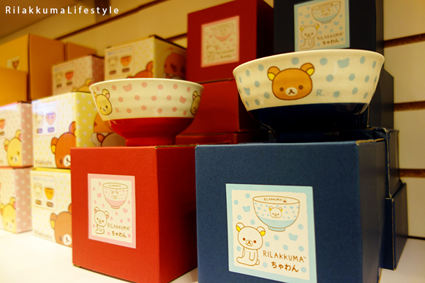 Rilakkuma Lifestyle - リラックマ - Rilakkuma Shop - Grand Opening - Westfield Brandon Center Mall Florida - First Rilakkuma Shop in US - bowls matching