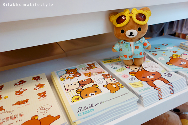 Rilakkuma Lifestyle - リラックマ - Rilakkuma Shop - Grand Opening - Westfield Brandon Center Mall Florida - First Rilakkuma Shop in US - notebooks