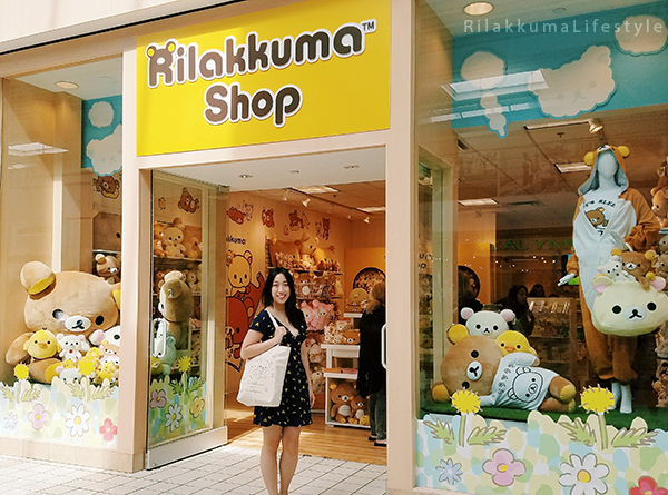 Rilakkuma Lifestyle - Rilakkuma Shop - Soft Opening - Westfield Brandon Center Mall Florida - First Rilakkuma Shop in US - Storefront