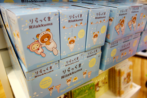 Rilakkuma Lifestyle - リラックマ - Rilakkuma Shop - Christmas Event - Westfield Brandon Center Mall Florida - First Rilakkuma Shop in US - Otter series - Rilakkuma otter blind box
