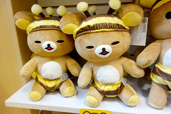 Rilakkuma Lifestyle - リラックマ - Rilakkuma Shop - Christmas Event - Westfield Brandon Center Mall Florida - First Rilakkuma Shop in US - Bee series - Honey series - Honeybee serires - Rilakkuma sleepy honeybee suit plush - honey plush