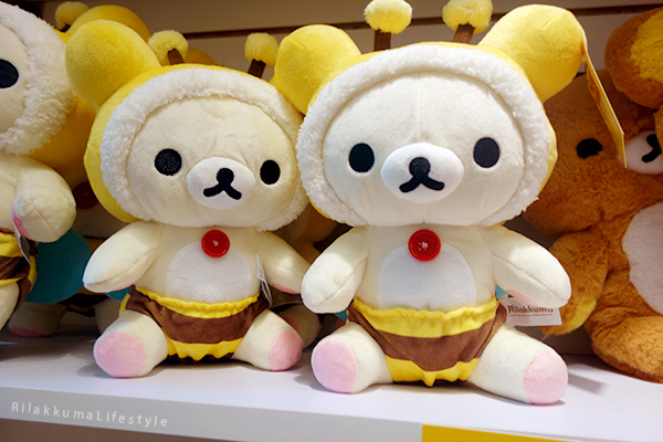 Rilakkuma Lifestyle - リラックマ - Rilakkuma Shop - Christmas Event - Westfield Brandon Center Mall Florida - First Rilakkuma Shop in US - Bee series - Honey series - Honeybee serires - Korilakkuma honeybee suit plush